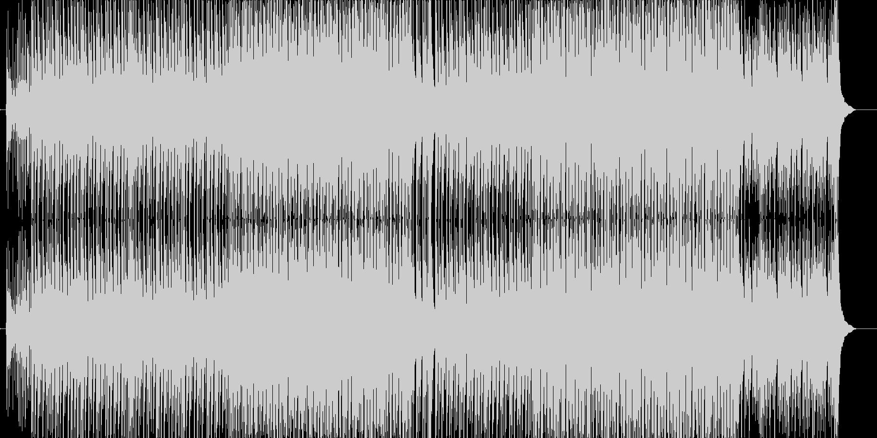 ど真ん中!太鼓と三味線と掛け声が熱い曲の未再生の波形