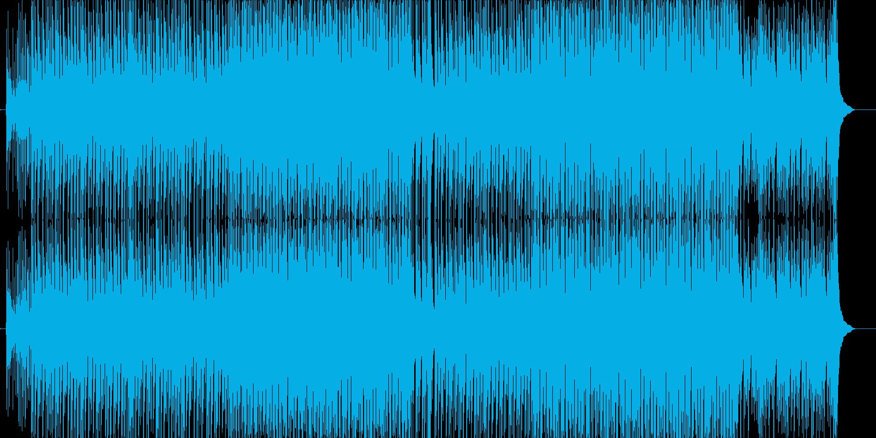 ど真ん中!太鼓と三味線と掛け声が熱い曲の再生済みの波形