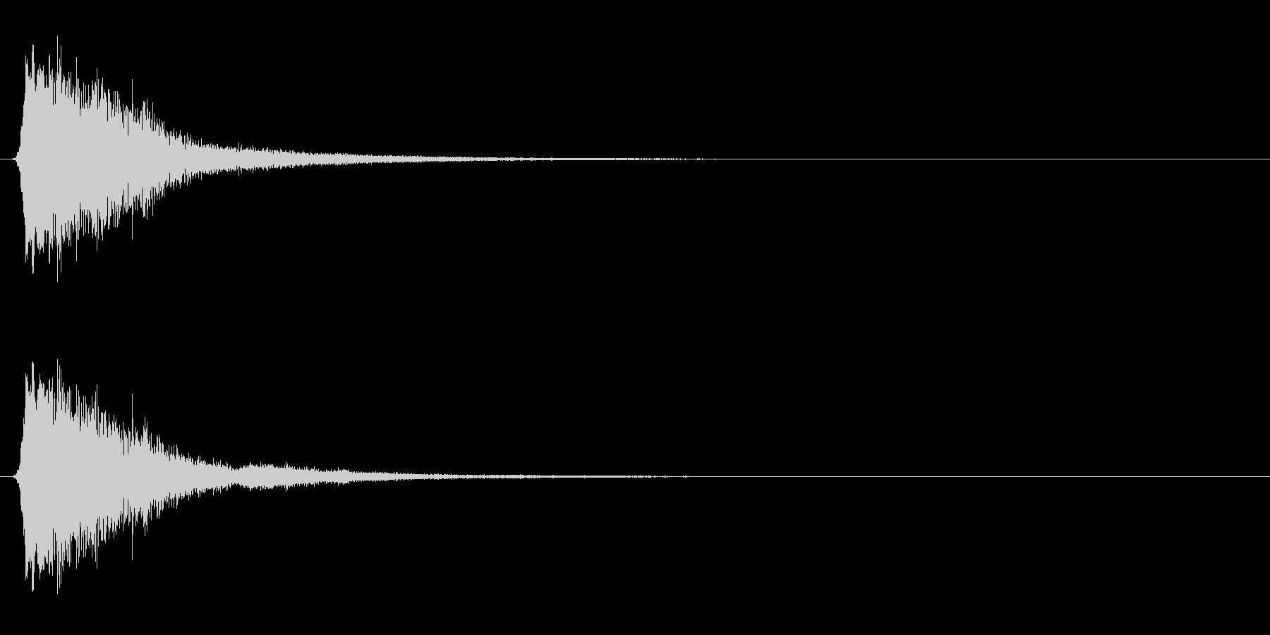 キラキラ系_009の未再生の波形