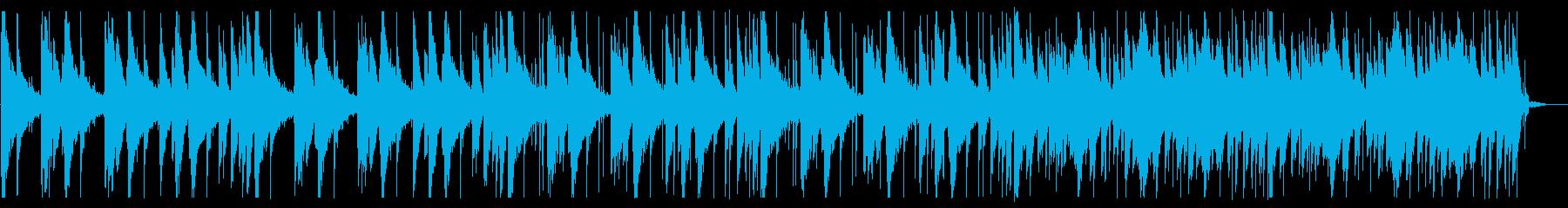 落ち着いたピコピコとしたBGM_2の再生済みの波形