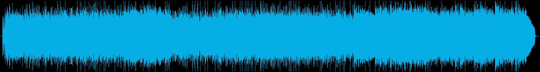 爽やかで勢いのあるスタートアップ曲の再生済みの波形
