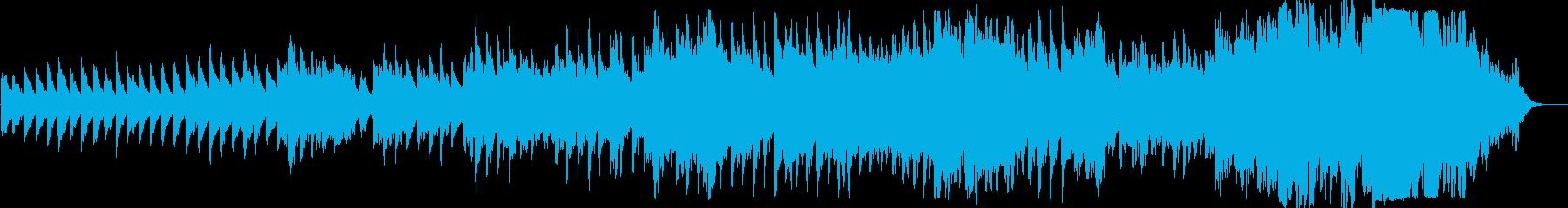 ピアノとフリューゲルホルンのバラードの再生済みの波形