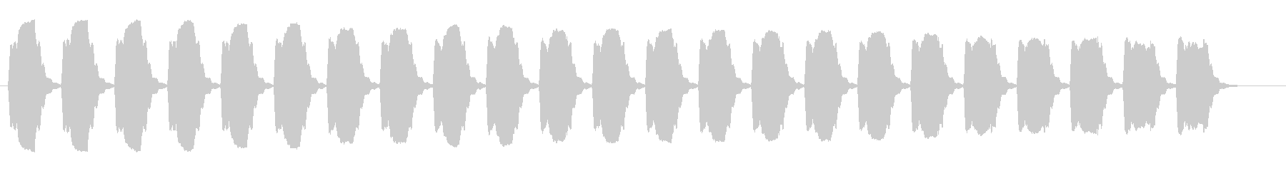 車のアラーム-ホーンホーンの未再生の波形