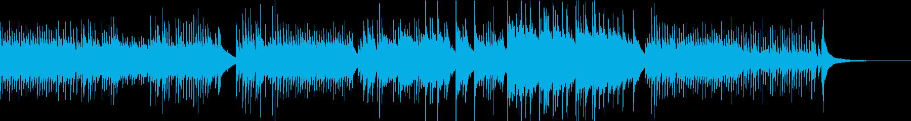 ピアノ/やさしい/シンプル/朝日/光の再生済みの波形