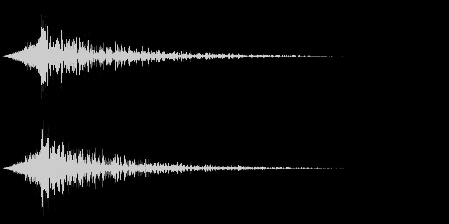 シュードーン-23-4(インパクト音)の未再生の波形