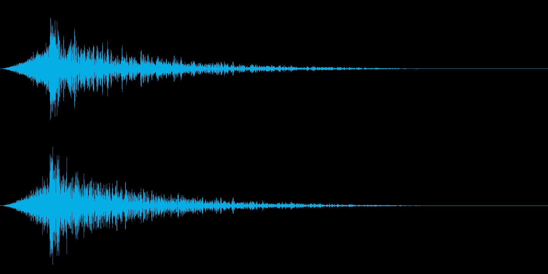 シュードーン-23-4(インパクト音)の再生済みの波形