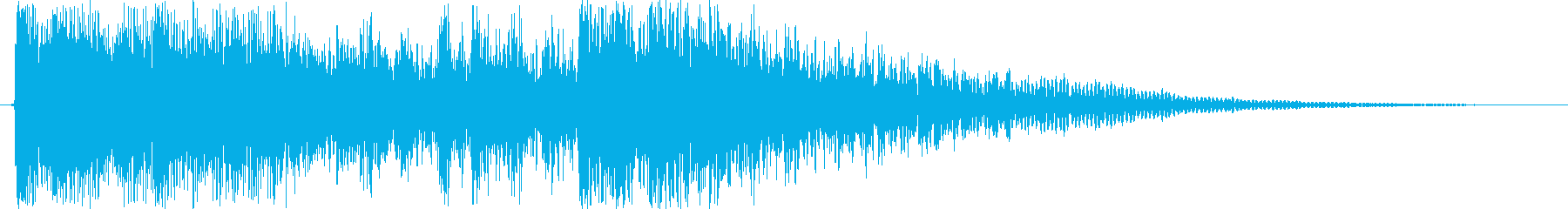 ゲーム、TV等、開始ジングル-001の再生済みの波形