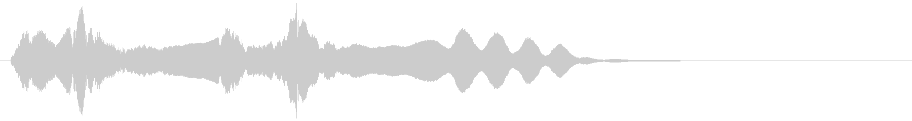 尺八ソロによるジングル_02の未再生の波形