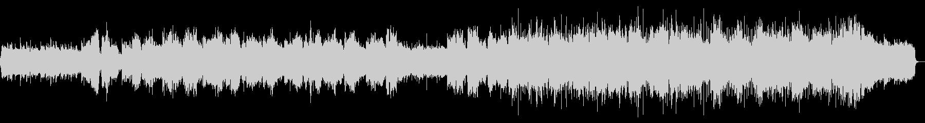 ピアノとオーケストラが入った合唱曲の未再生の波形