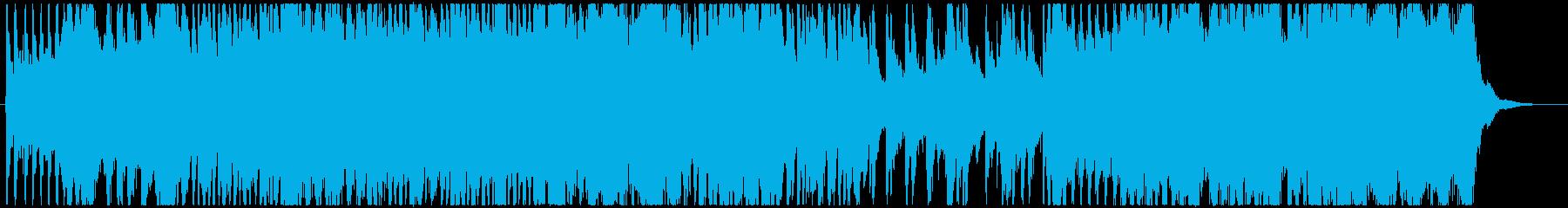 バトル系の緊迫感、ハリウッドオーケストラの再生済みの波形