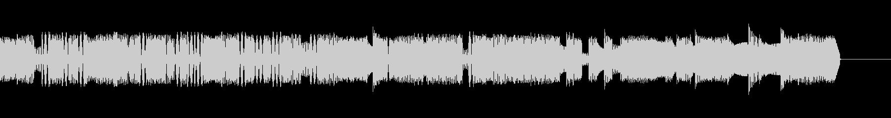 無線での電子音やモデムのようなピコピコ音の未再生の波形
