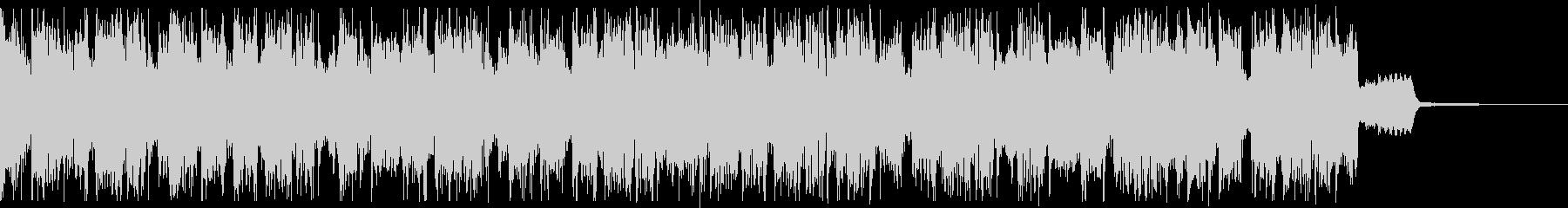 半音で行き来するトランペットのジングルの未再生の波形
