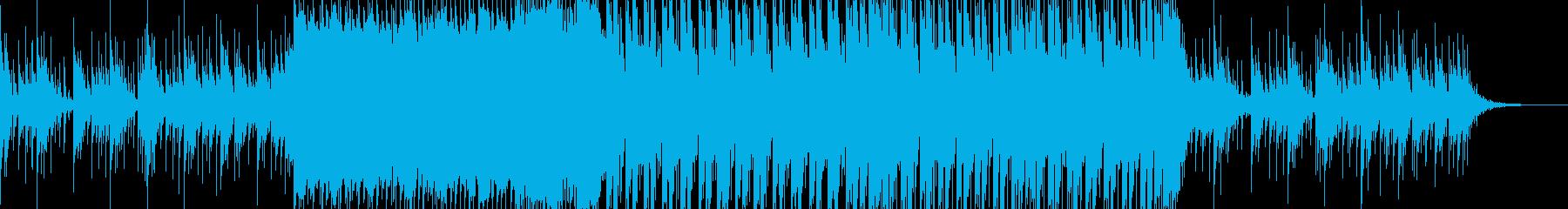 ベルサウンドの透明感のあるエレクトロの再生済みの波形