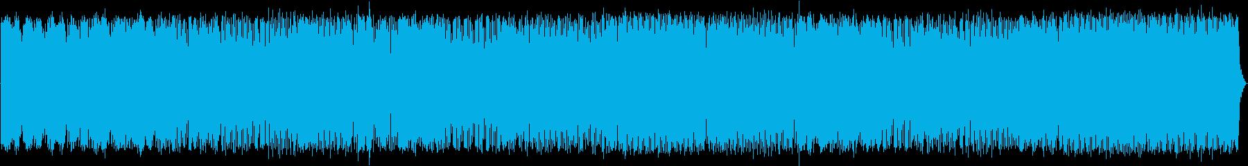 モダンなシンセサイザーメロディと脈...の再生済みの波形