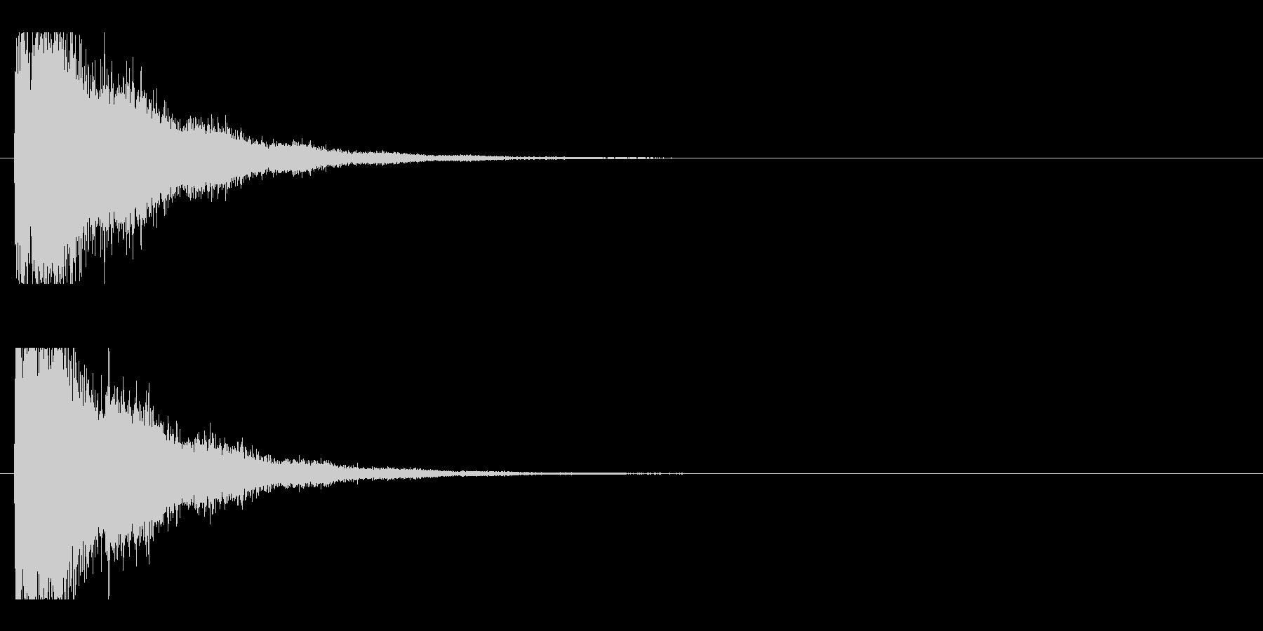 レーザー音-75-2の未再生の波形