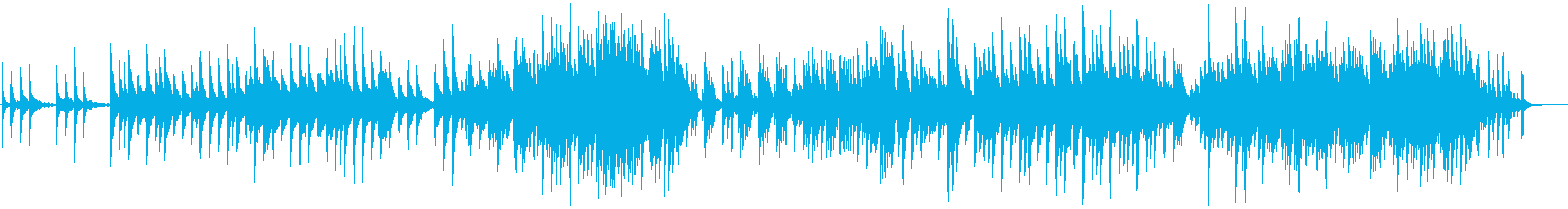 卒業がテーマのコードで聞かせるピアノの再生済みの波形