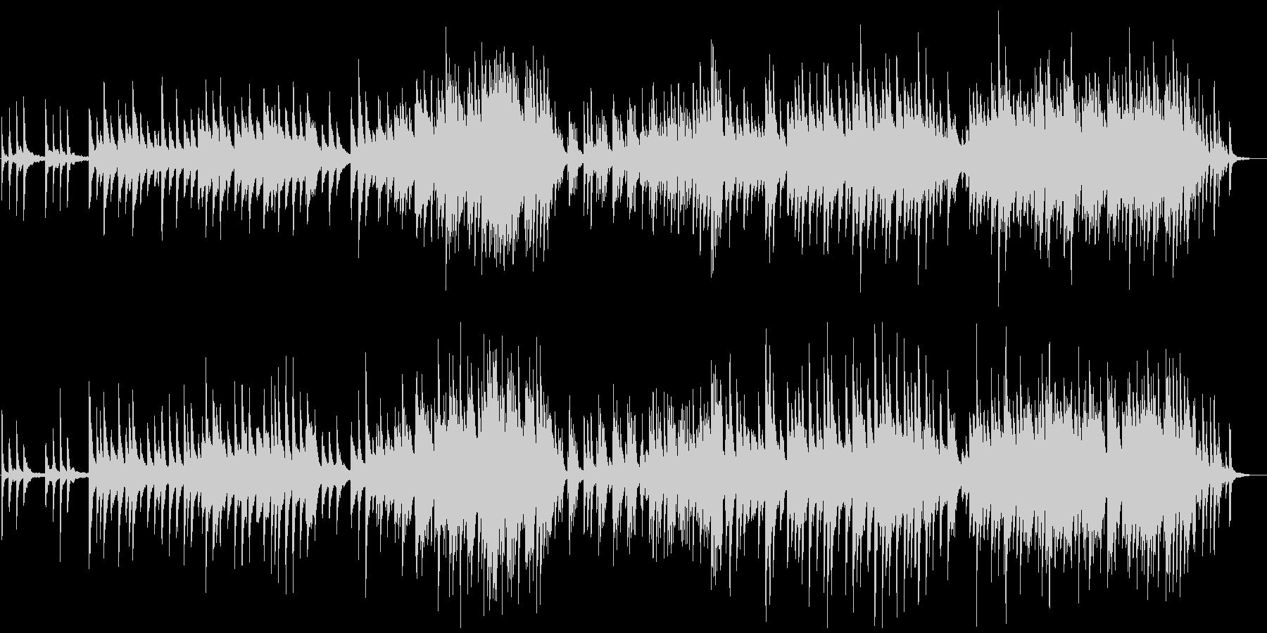 卒業がテーマのコードで聞かせるピアノの未再生の波形