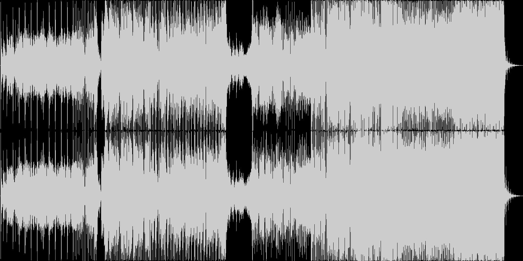 さわやかで切ないギターテクノロックの未再生の波形