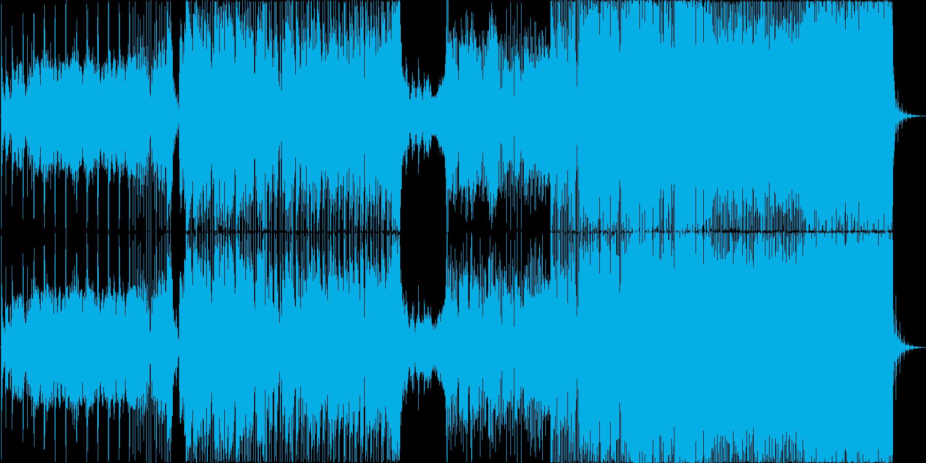 さわやかで切ないギターテクノロックの再生済みの波形