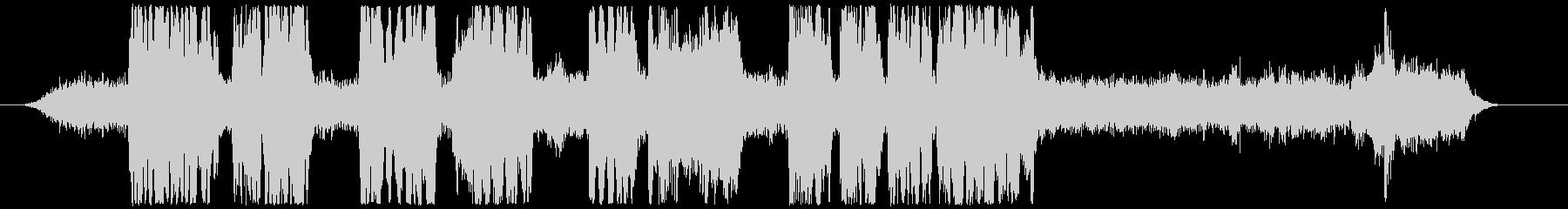 クラリーンズ・ブルズの未再生の波形