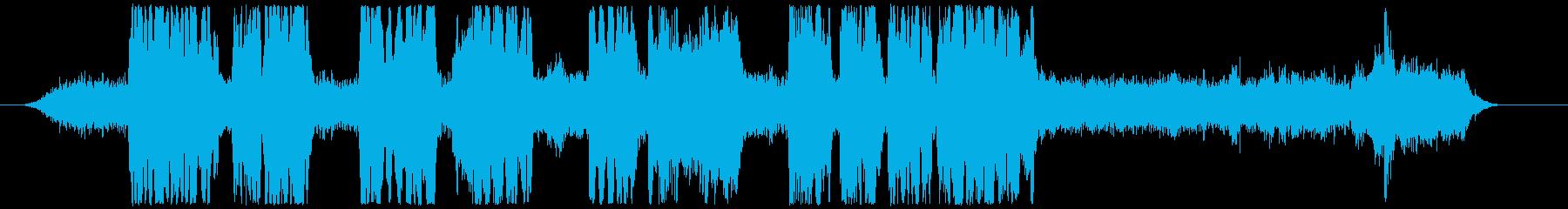 クラリーンズ・ブルズの再生済みの波形