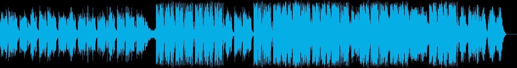 気だるい雰囲気のアコギのBGMの再生済みの波形