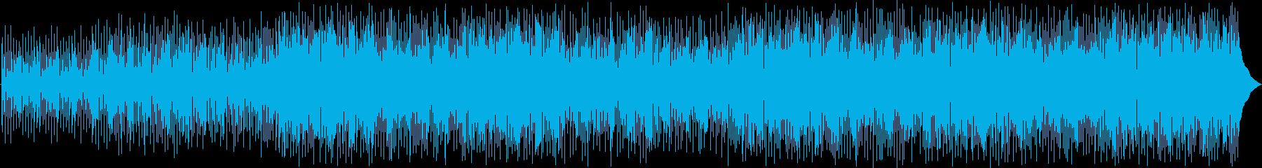 ギターとピアノをフィーチャーしたド...の再生済みの波形