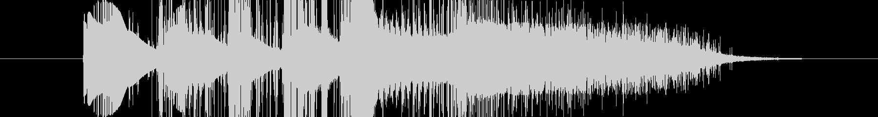 スペースジャムバージョン9の未再生の波形
