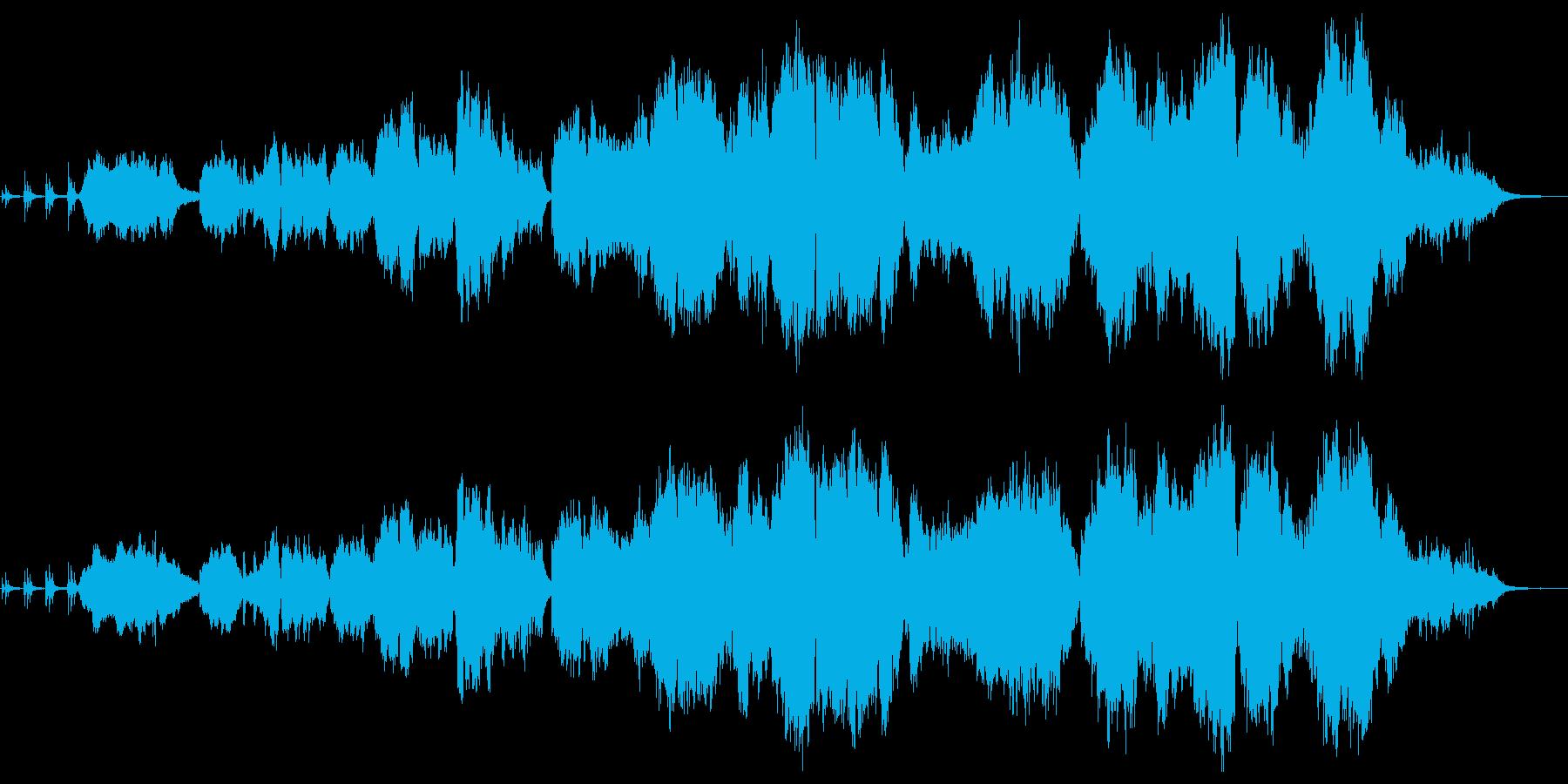 切なくあたたかい感動系バラード 生演奏の再生済みの波形