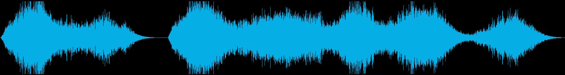 PADS 合唱団パッド01の再生済みの波形