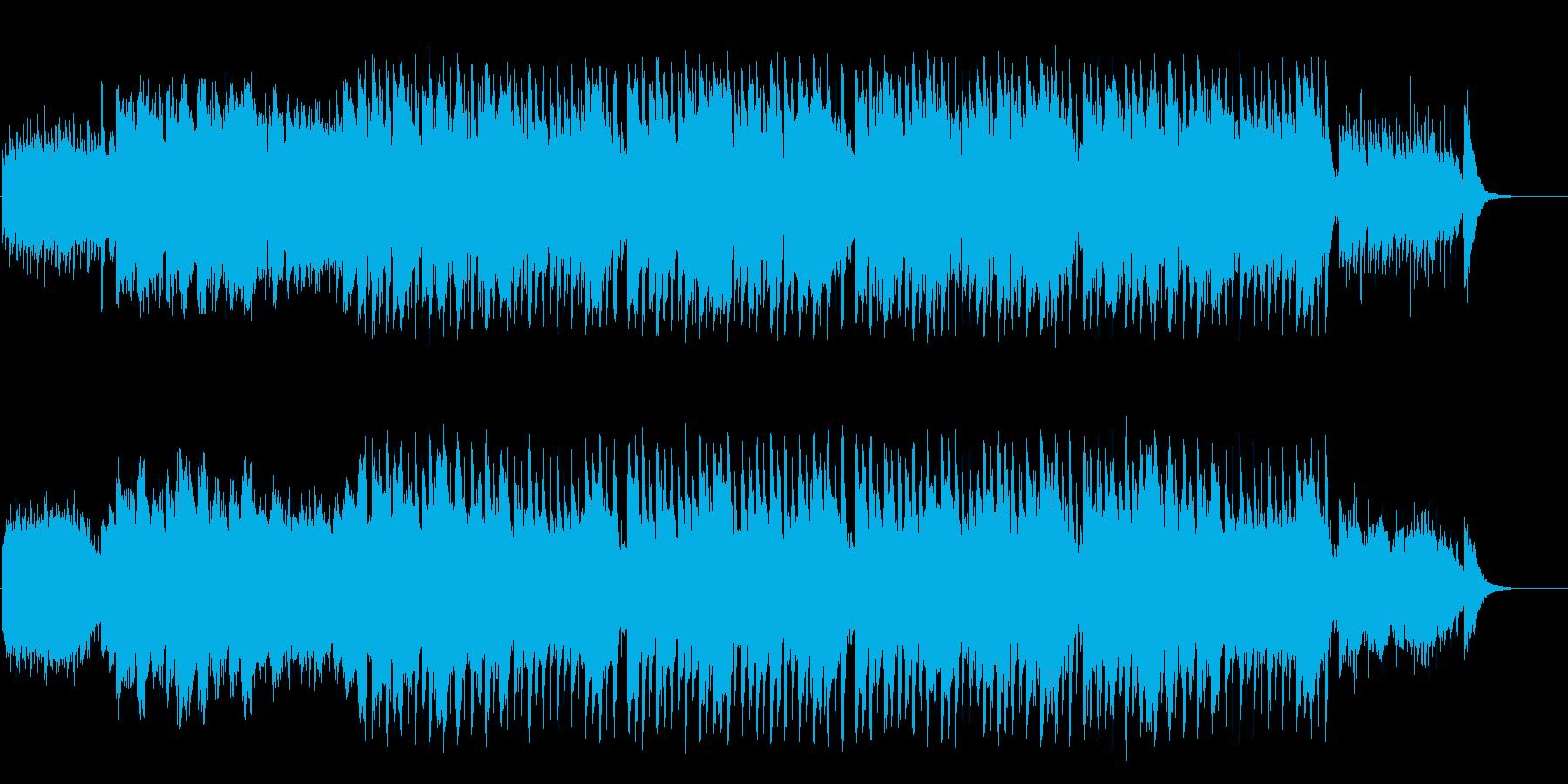 メルヘンなブライダル風セミクラシックの再生済みの波形