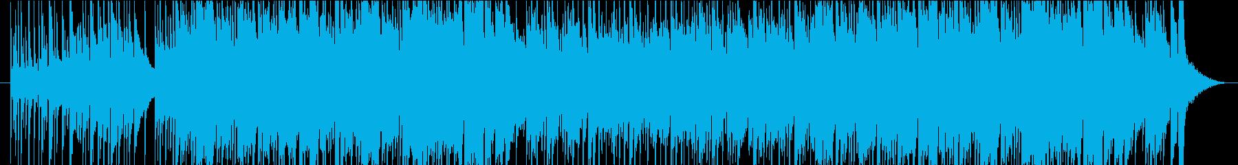 爽やかで切なかっこいいSaxフュージョンの再生済みの波形