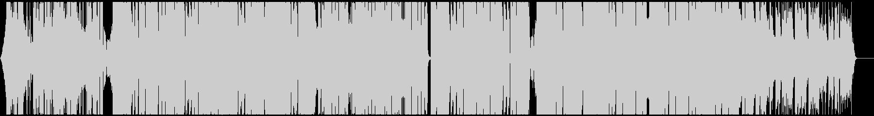 スタイリッシュで都会的なハウス CM映像の未再生の波形