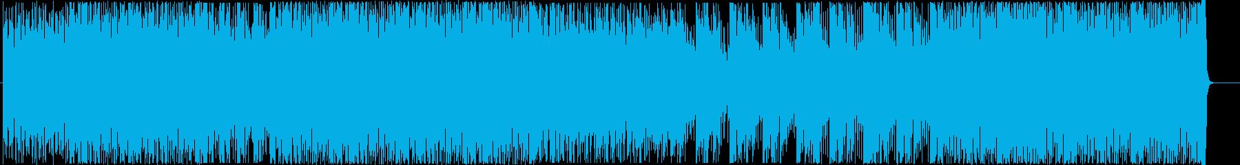 クセになるノリのインストの再生済みの波形
