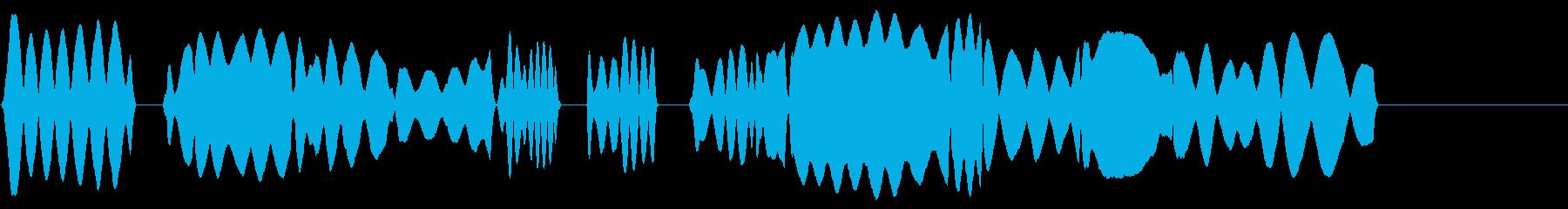 校歌風ヘタウマリコーダーのみのジングルの再生済みの波形