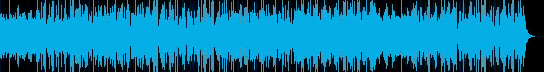 切なく耳に残るリフが印象的なBGMの再生済みの波形