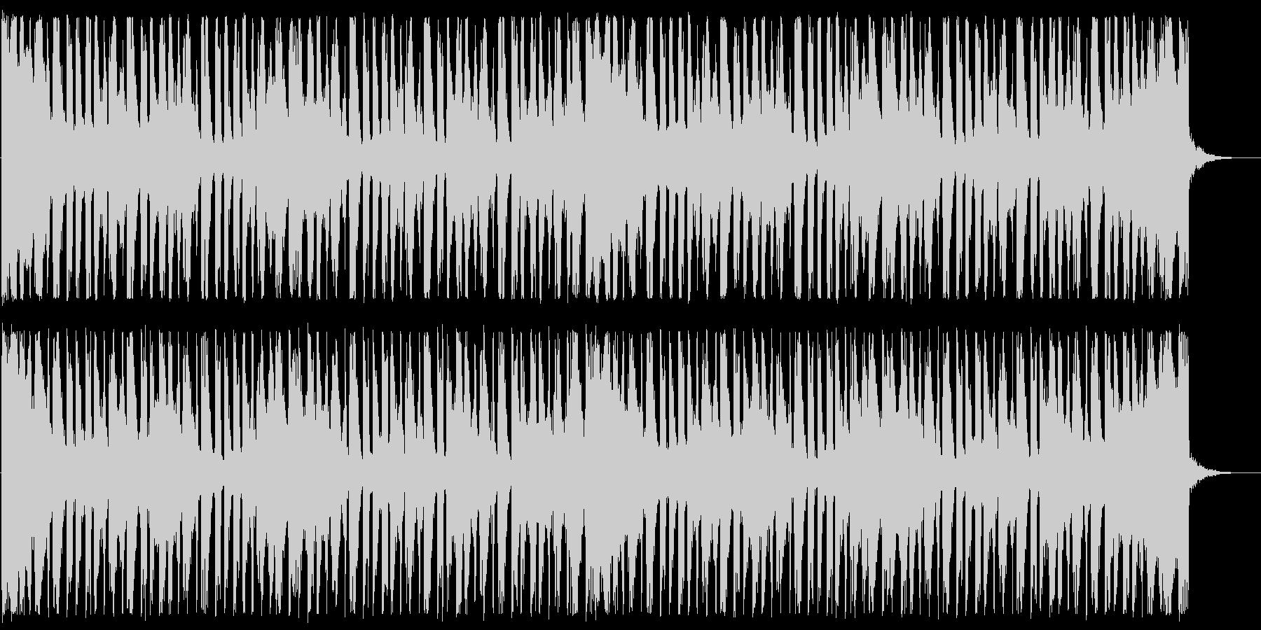 涼しげなディープハウス_No615_4の未再生の波形