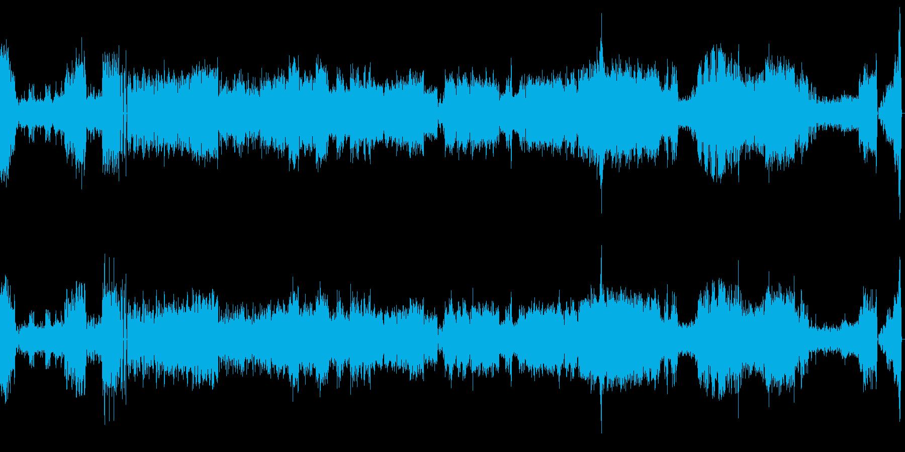ハンガリーの街と平原をイメージした曲の再生済みの波形