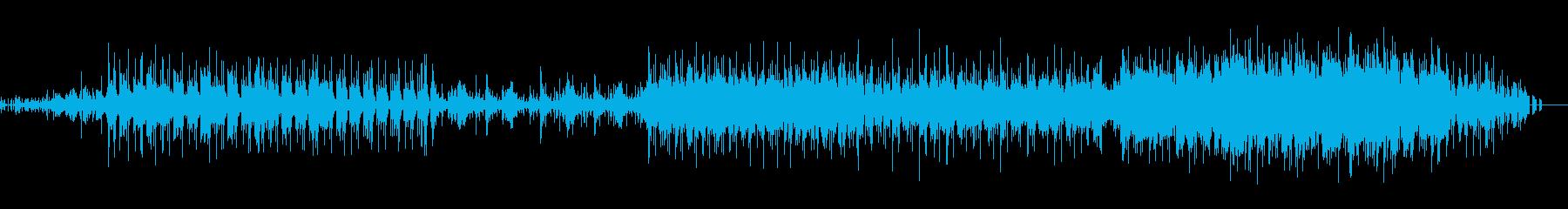 爽やかなピアノ+エレクトロミュージックの再生済みの波形