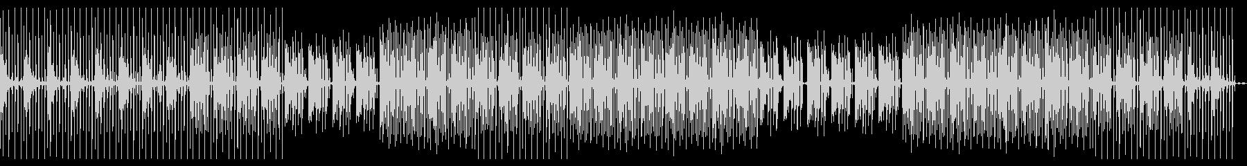 Deep house loungeの未再生の波形