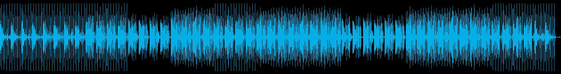 Deep house loungeの再生済みの波形