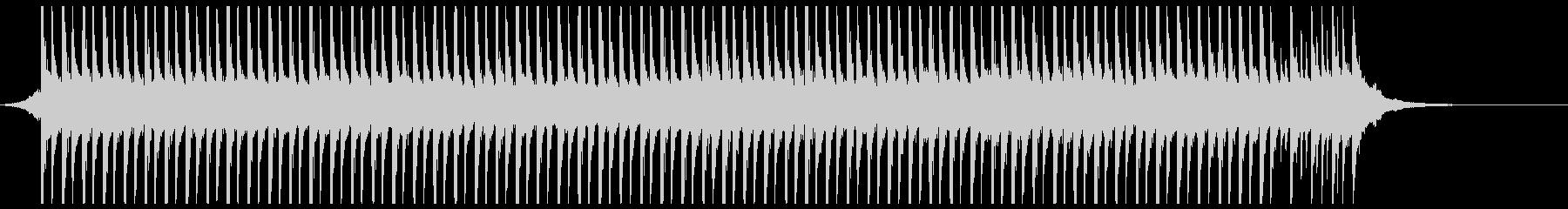 旅行(36秒)の未再生の波形