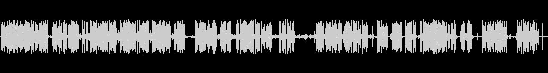 アナウンサーカーレースメガホンaの未再生の波形