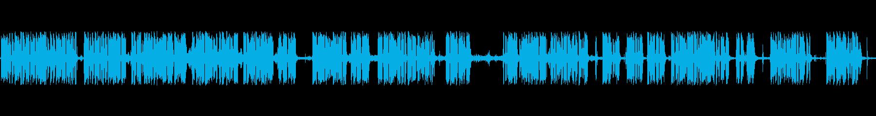 アナウンサーカーレースメガホンaの再生済みの波形