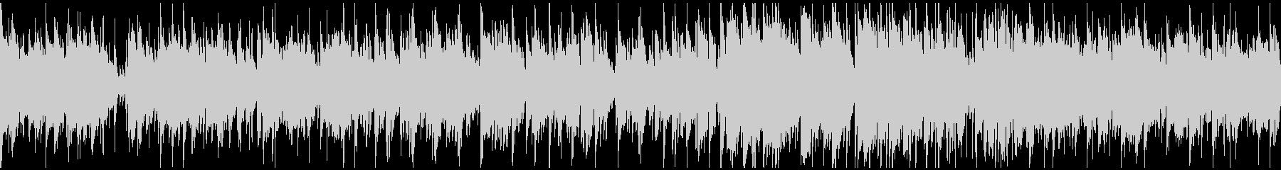 納涼ジャズボサノバ、リラックス※ループ版の未再生の波形