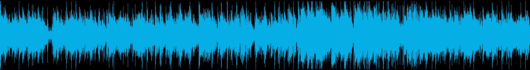 納涼ジャズボサノバ、リラックス※ループ版の再生済みの波形