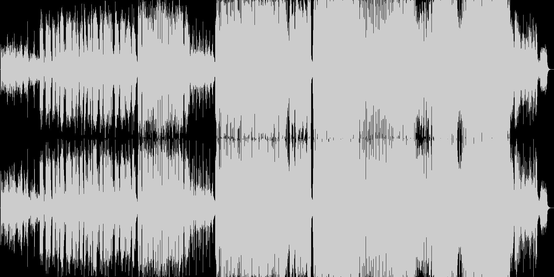 大人っぽく、やさしく落ち着いたバラードの未再生の波形