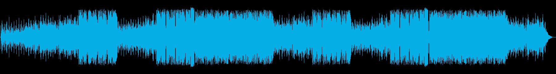 洋楽 英語 フューチャーポップ ドラマの再生済みの波形