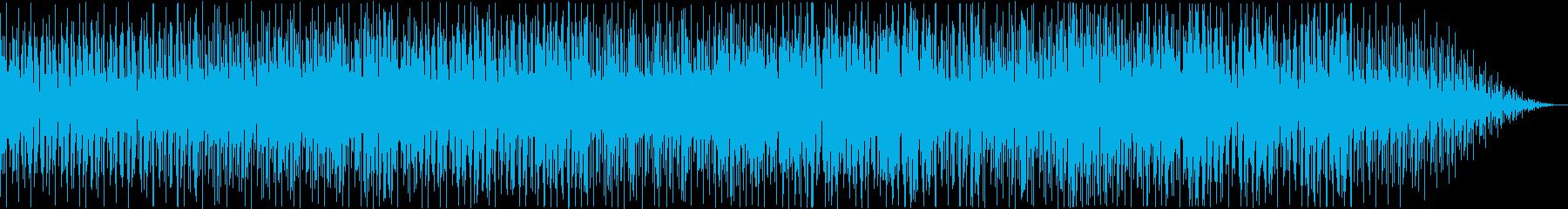 ゆったりとしたクールなビート、アコ...の再生済みの波形