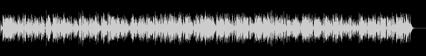 古めかしいクラリネットのオールドジャズの未再生の波形